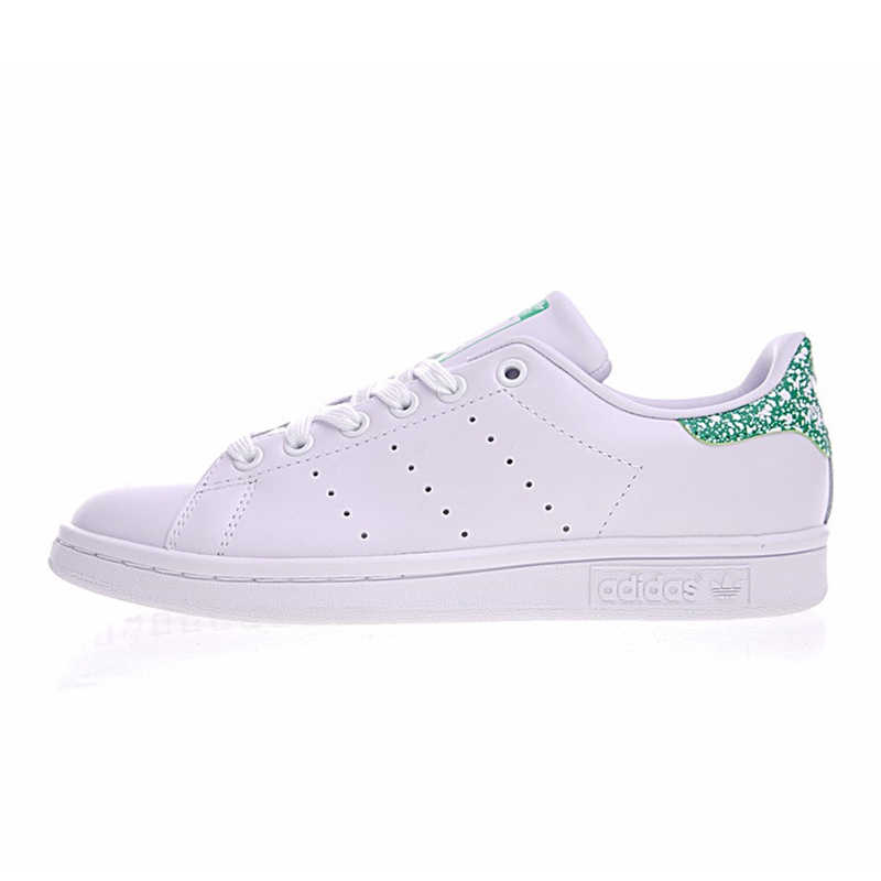 huge selection of 3a346 c47ff Adidas Stan Smith Women's Walking Shoes White & Green ...