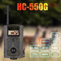 HC 550G Hunting Camera Wild Trap Infrared HD 16MP SMS MMS SMTP GPRS 3G 120 Degrees Hunter Game Trail Forest Wildlife Camera New