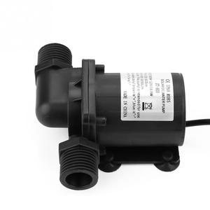 Image 5 - JT 800D 12 mini dc bomba de água sem escova para pequenos peixes lagoa 12 v fluxo 800l/h baixo ruído fonte de aquário mini água pum