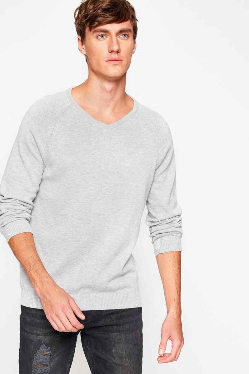Koton Male Gray Sweater 8KAM93162LT