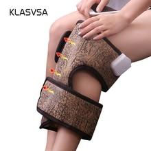KLASVSA Far Infrared Tourmaline Knee Pad Electric Heating Th