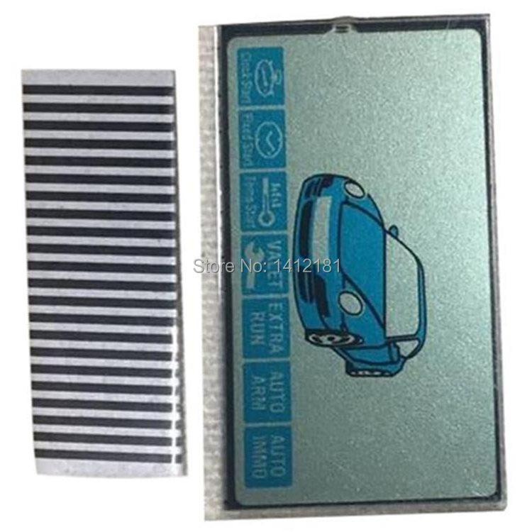 Wholesale B9 LCD Display Flexible Cable For StarLine B9 Remote Controller B9 Display With Zebra Stripes