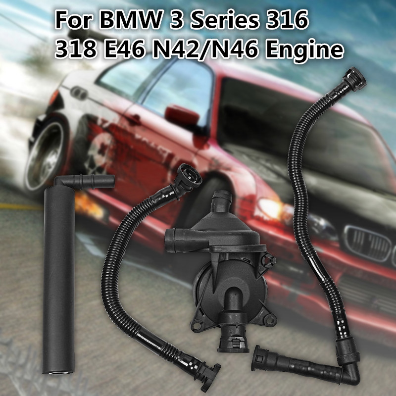 Crankcase Vent Valve Breather Hose Kit For BMW 3 Series 316 318 E46 N42/N46 PCV VALVE+3 X Breather HosesCrankcase Vent Valve Breather Hose Kit For BMW 3 Series 316 318 E46 N42/N46 PCV VALVE+3 X Breather Hoses