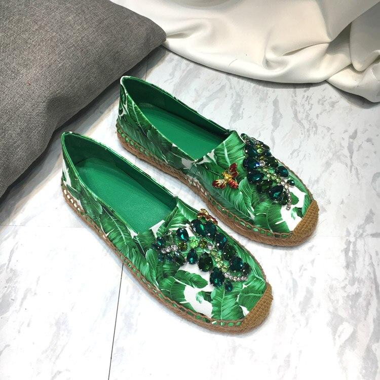 Femme Appartements Sur Décontracté Chaussures Pic Chic Makasins Pour Glissement Été Femelle As Ballet Printemps D'été Profonde Slipona Peu Femmes De 6CPwqPZ