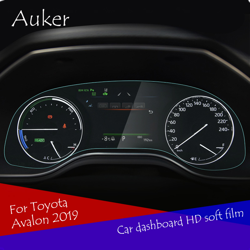 For Toyota Avalon 2019 2020 Car Driving Dashboard Soft HD Screen Protective Film
