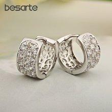 6 пар оптом золотистые серьги кольца для женщин boucle d'oreille