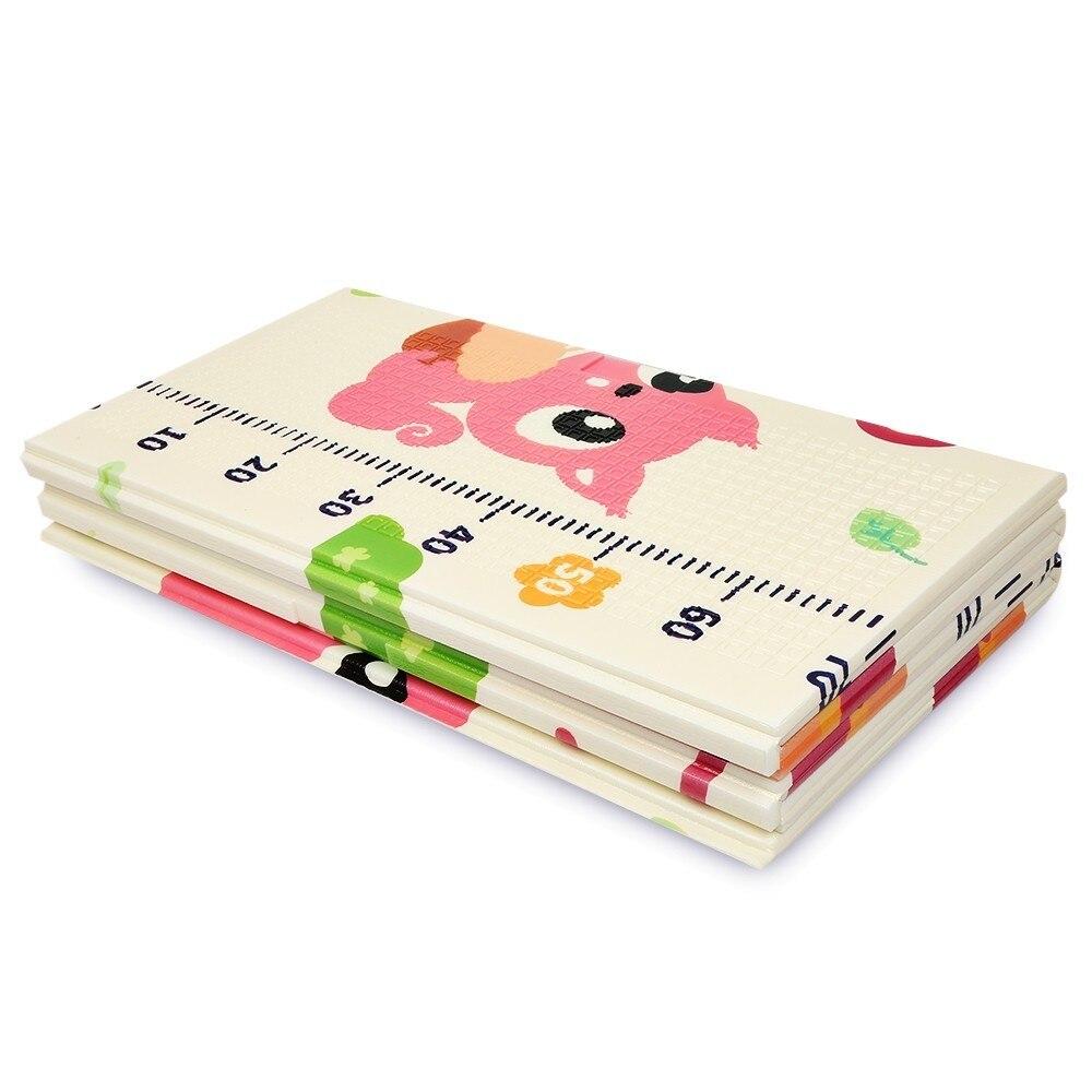 Tapis de jeu pour bébé XPE Double face Puzzle enfants tapis épaissi Tapete Infantil chambre ramper tapis pliant tapis bébé - 6