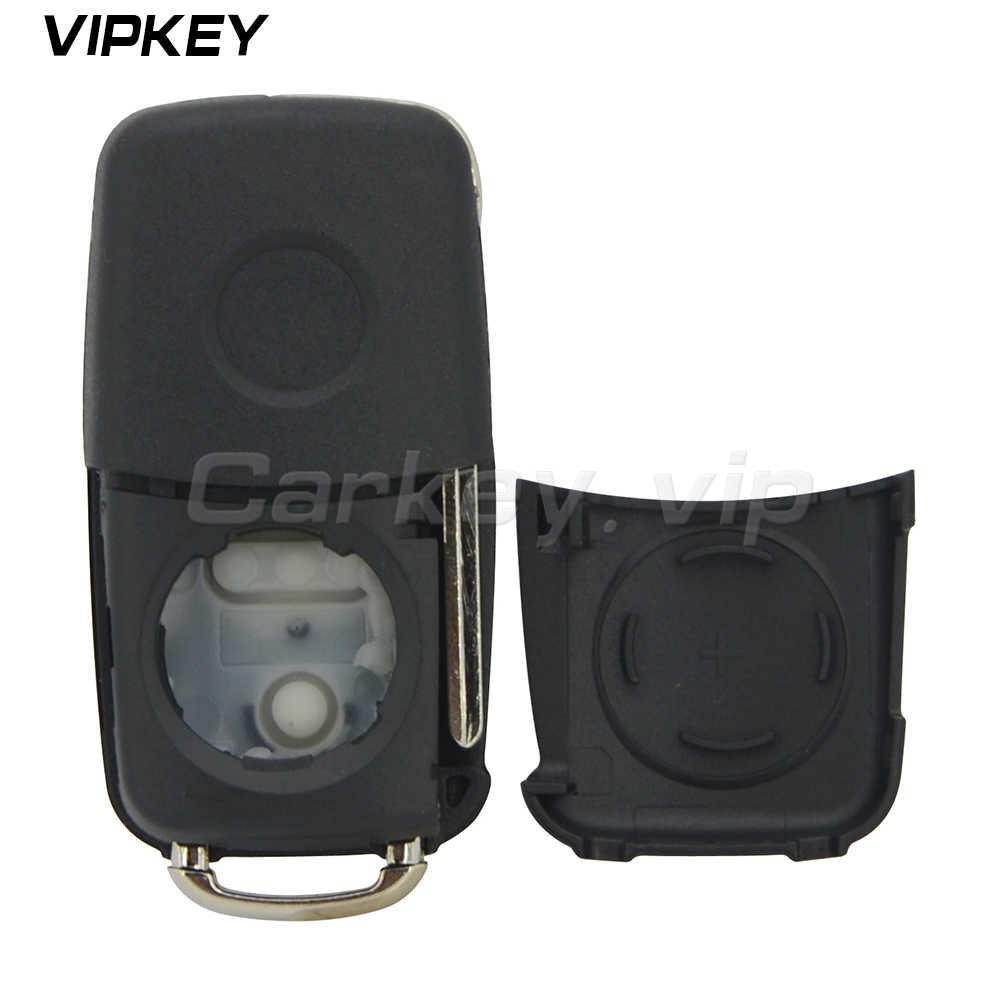 Съемный ключ 5K0837202AD для VW для VOLKSWAGEN PASSAT GOLF POLO умный пульт дистанционного брелока корпус крышка 3 кнопки HU66