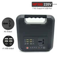 59400mAh Portable Inverter Power Bank 220V 200WH USB Output emergency battery High capacity Energy storage box|Jump Starter| |  -