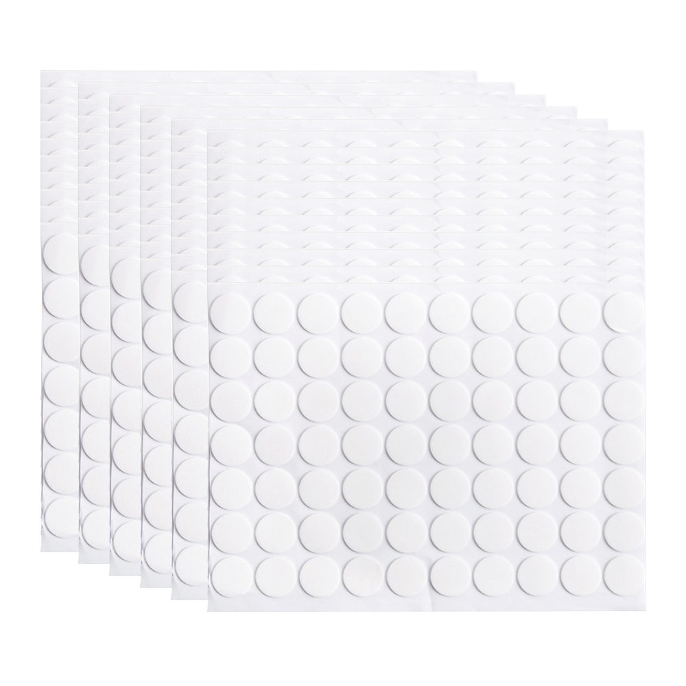 70 Pieces Round Double-Sided Tape Strong Adhesive Pad DIY Scrapbooking Wedding Decoration Fixed Tape