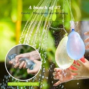 111 قطعة المياه القنابل بالون مذهلة ملء بلالين سحرية الأطفال المياه الحرب لعبة لوازم الاطفال الصيف في الهواء الطلق لعبة للشاطئ حزب