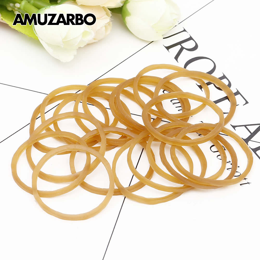 High Quality Rubber Ring Rubber Bands Strong Elastic Stationery Holder Band Loop School Office Supplies