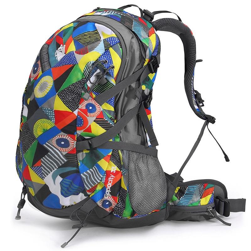 Men Women Outdoor Backpack Sport Bag Camping Traveling Bags Waterproof Bag Trekking Climbing Bicycle Hiking Sports Backpacks