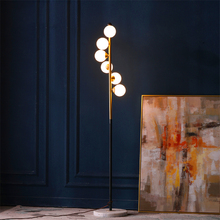 цена на Nordic LED Floor Lamp Living Room Standing Lights Luminaires Floor Lamps Bedside Home Deco Lighting Fixtures Bedroom Stang Lamps