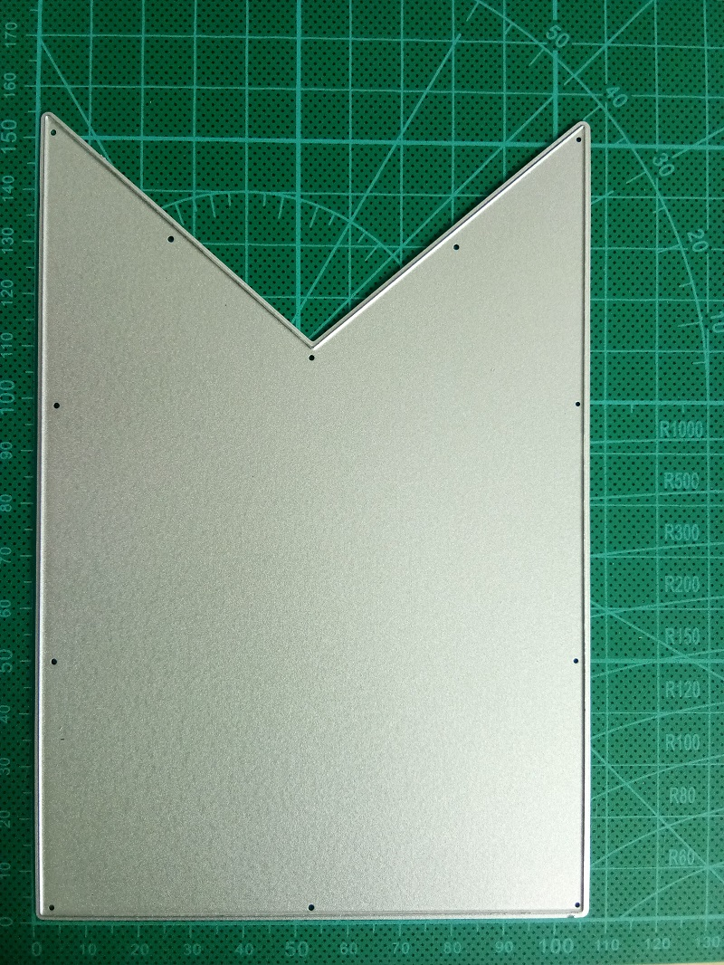 5Pcs Banner Design Metal Cutting Die For DIY Scrapbooking Album Paper Cards SE