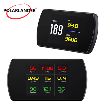 Digital Head Up Display Digital Car Speed Projector  Speedometer Windshield Projetor On-Board Computer  P12 5.8 TFT Car HUD OBD2