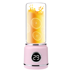 Portable Blender, Usb Rechargeable Travel Blender, Personal Blender For Shakes And Smoothies, Fast Blending, Detachable Cup