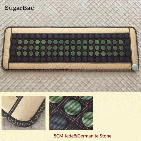 coreia do colchao turmalina jade aquecimento tourmaline pedra sofa mista jade massagem mat pacote com