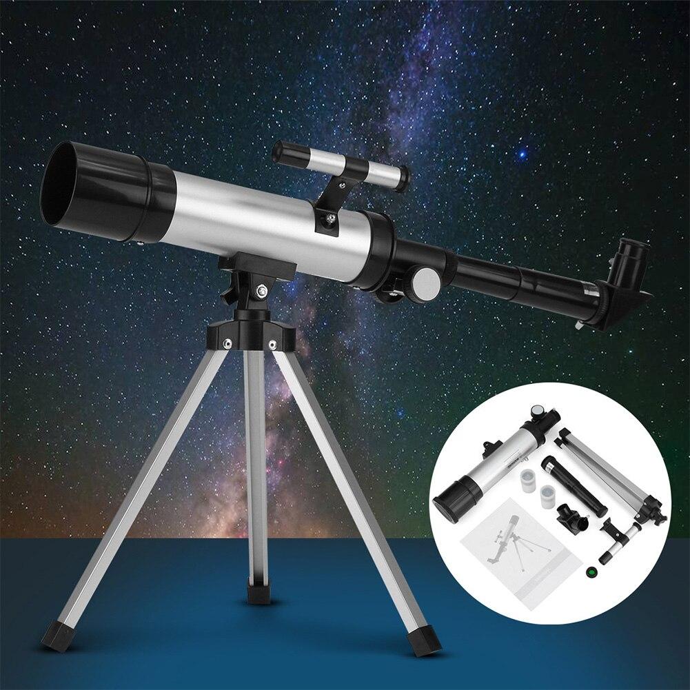 F36050 Professionnel Astronomique Télescope Tube Lunette 90X Trépied Monoculaire Spotting Scope