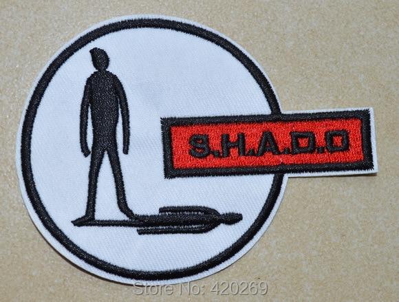 Горячая распродажа!~ UFO SHADO Man, нашивка на одежду, аппликации из ткани, гарантированное качество