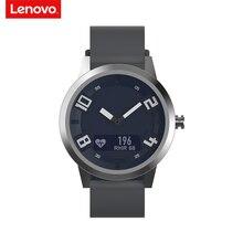 Lenovo x relógio inteligente 80atm, à prova d água, luminoso, ponteiro, rastreador fitness, monitoramento da frequência cardíaca, chamadas, lembrete, alarme vibratório