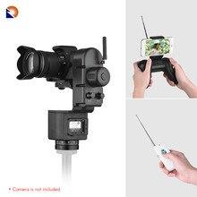ZIFON YT 3000 Cabezal de trípode panorámico con Control remoto para cámara Canon, Nikon, Sony, DSLR, de Vídeo Grabación, 50m