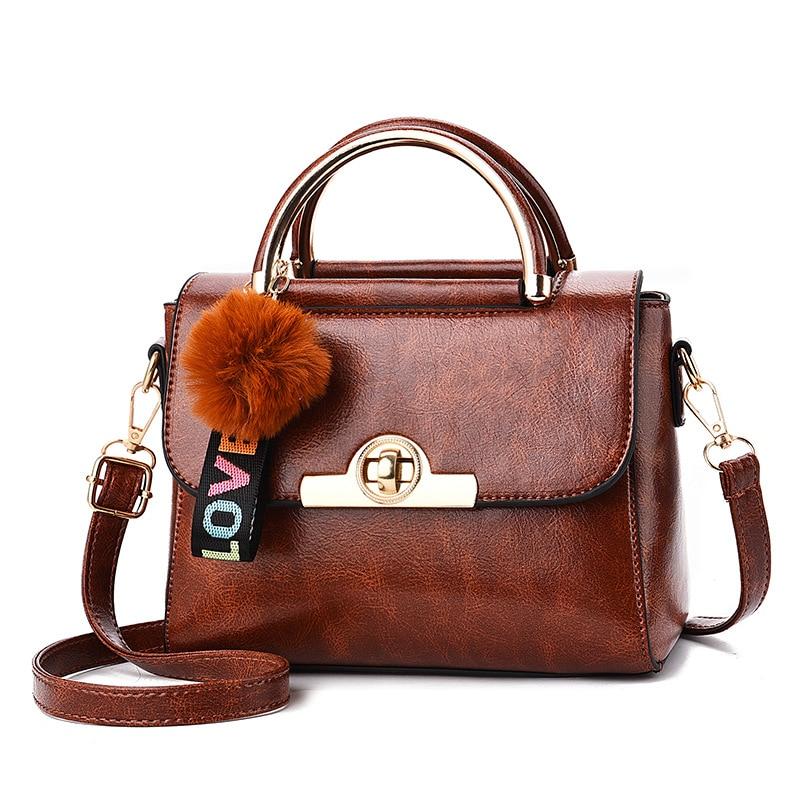 Witfox Love tassel gift bag for women retro vintage style ladies satchels pu leather female handbags