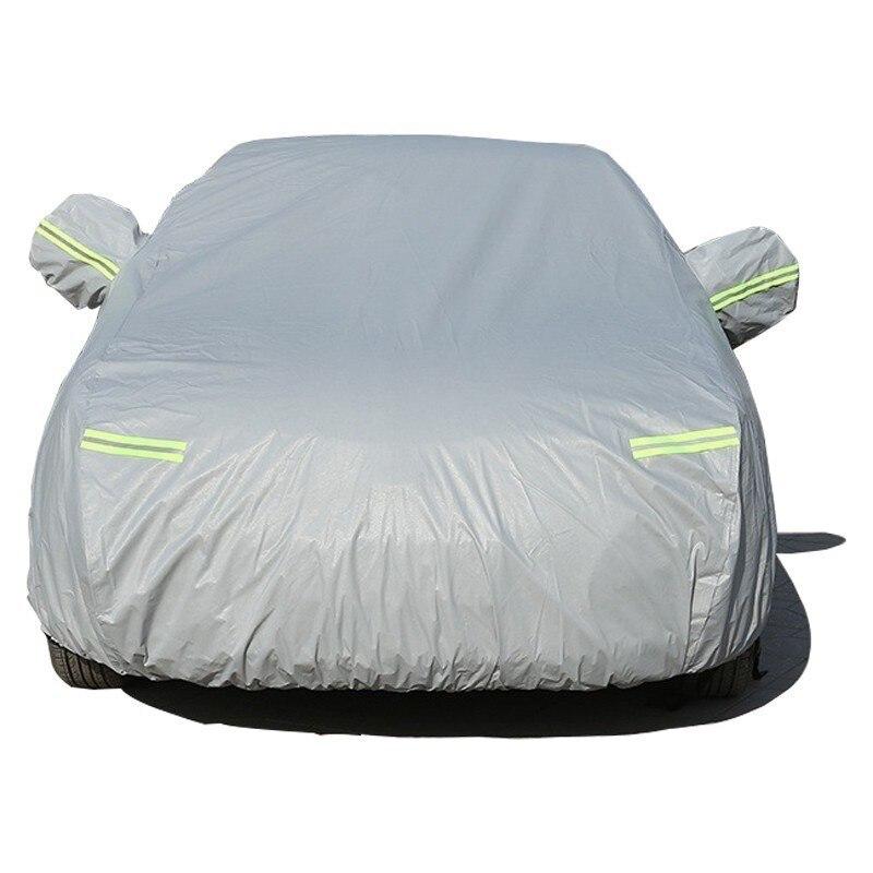 Bâches de voiture imperméables couverture de Protection solaire extérieure pour BMW 4 5 6 7 Series nouvelle énergie côté ouverture poussière pluie neige Protection