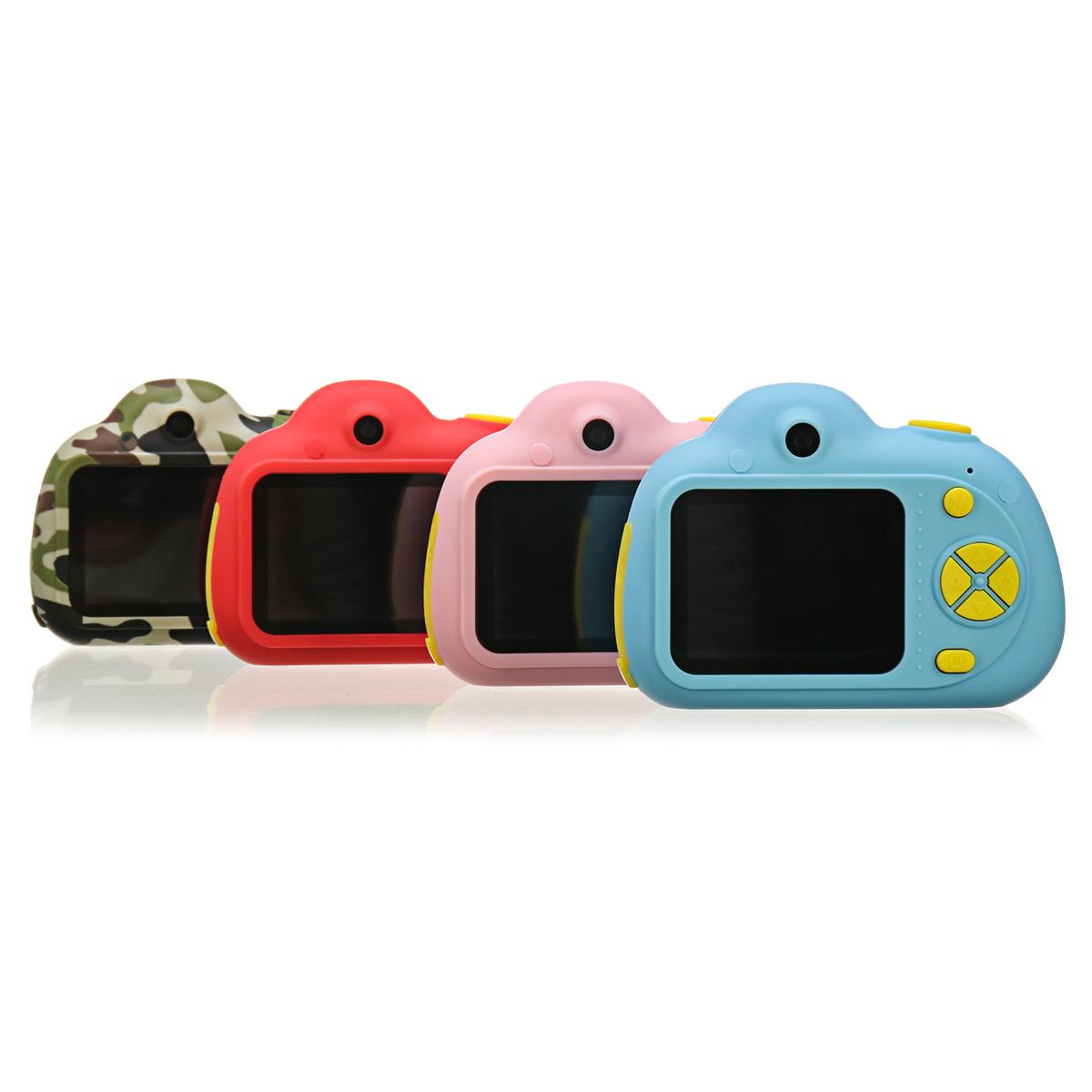 D6 2 ''HD numérique Micro enfants caméra Mini enfants caméra 800 W 120 ° grand Angle reconnaissance du visage Photo vidéo jouet caméra - 6