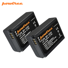 Powtree 7.2V 1400mAh BP-1030 BP1030 BP1130 BP-1130 Repalcement Camera Battery For Samsung NX200 Camera Battery L10 недорого