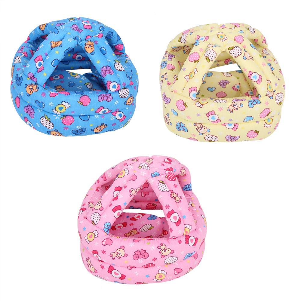 Baby Toddler Anti-collision Hat Baby Adjustable Loop & Hoop Lightweight Head Hat Safety Helmet Traveling Mother & Kids Safety Equipment
