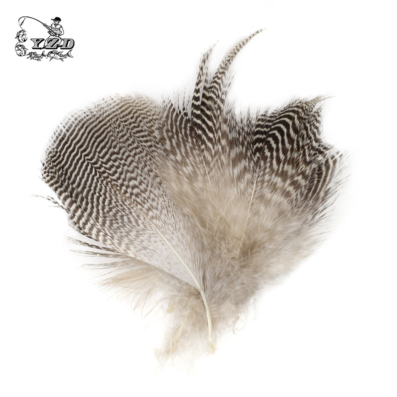 150x Natural Mallard Duck Flank Feathers 5-7cm Wild Goose Hair Lemon Wood duck for Fly Wings Tails Streamers Fly Tying Materials