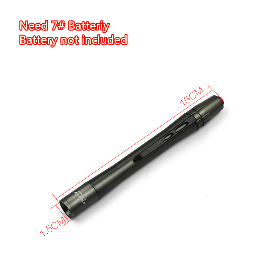 Universal Aluminum LED Car Paint Checking Swirl Finder Light Pen Lighter For Car Washing And Paint Finish Tools
