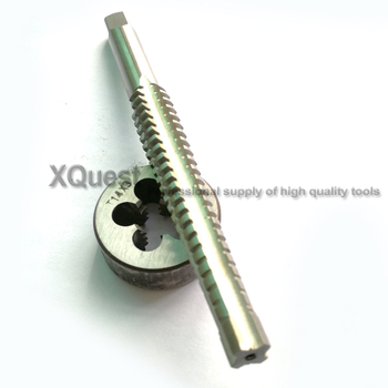 1set Left Hand Trapezoidal thread tap Round Die Tr8 Tr10 Tr12 Tr14 Tr16 Tr18 Tr20 Thread Trapezoid dies Taps 10X2 12X2 14X2 - discount item  12% OFF Hand Tools