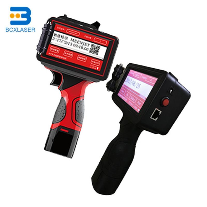 Handheld Inkjet Printer, Portable Handheld Inkjet Printer For Expiry Date Code Marking On Wood, Plastic, Carton, Box, Bottle