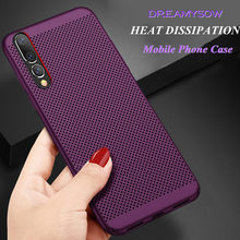 Warmteafvoer Telefoon Case Voor Huawei Y9 2019 P10 P20 P30 Lite Plus Mate 10 20 Lite P8 P9 lite P Smart 2017 Nova 3 3i Honor 8X(China)