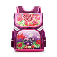 Russian Style Folding School Bag Children Backpacks for Boys and Girls Orthopedic Cartoon Knapsack Kids Backpack Mochila Escolar