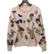 Розовый 2019 с пуловеры