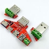 Type-c микро-usb; мини USB кабель адаптер конвертер доска USB тестер мощность амперметра инструмент для монитора Новый