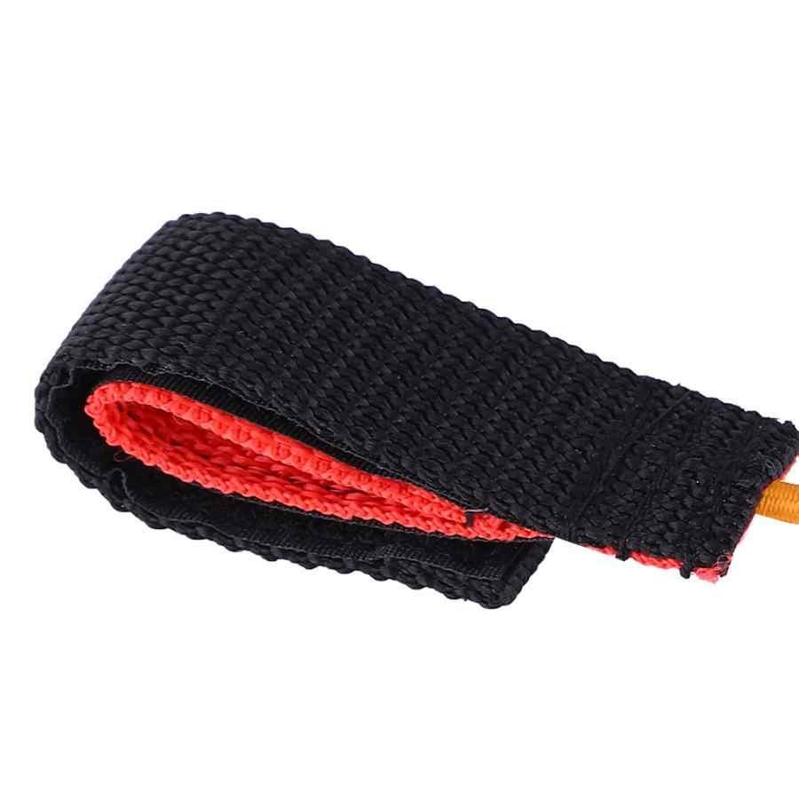 Corda elastica Canottaggio Kayak Paddle Asta Guinzaglio con Moschettone per Per Bambini di Sicurezza Barche a remi Kayak Accessori
