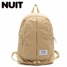 Women Nylon Backpack Bag High Middle School Students Bags Both Shoulders Woman Fashion Casual Schoolbags