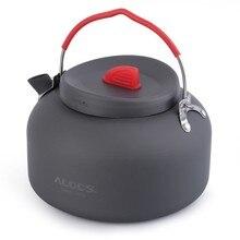 New Sale ALOCS 1.4L Hard Alumina Outdoor Kettle Camping Hiking Fishing Barbecue Picnic Water Teapot Coffee Pot CW-K06