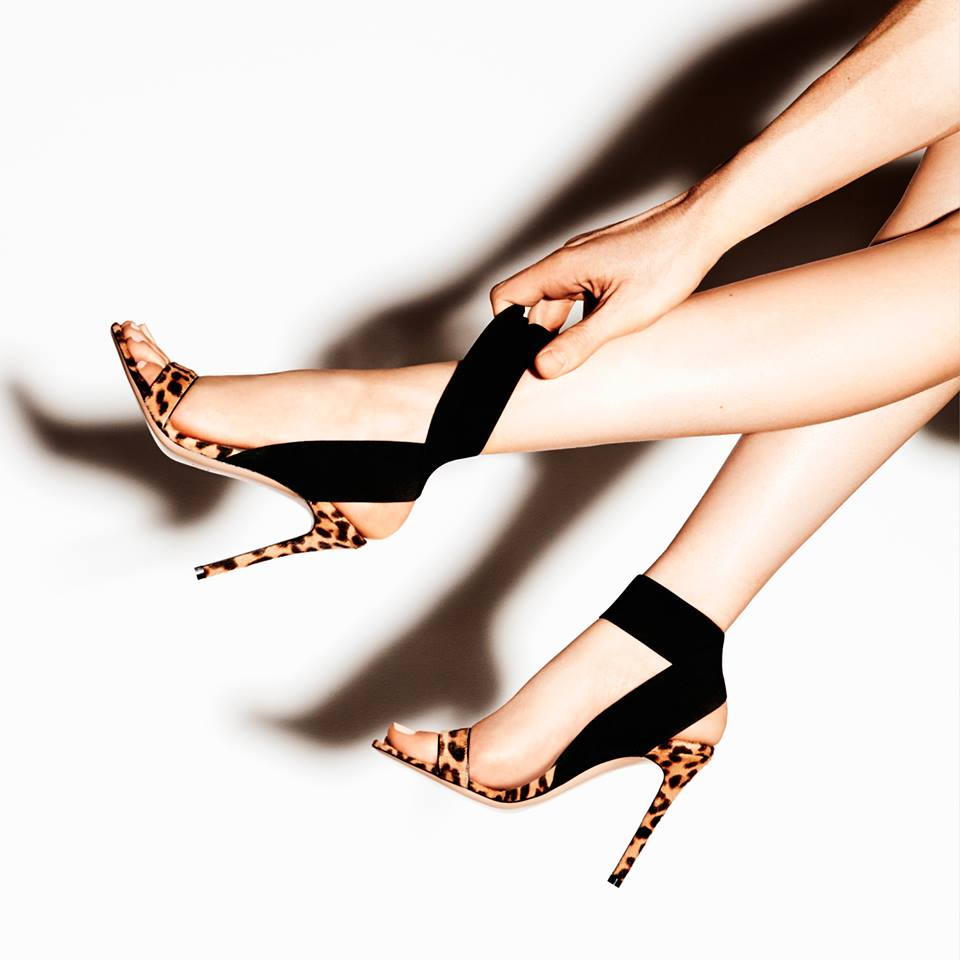 35 Sandalias Sexy Grano Zapatos De 40 Yma656 Nueva Banda Alta Fiesta Tamaño Damas delgadas Tobillo Tacones Negro Elástica Leopardo 2019 cpqOYA6aW