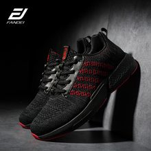 FANDEI Running Shoes For Men Zapatillas Hombre Deportiva Outdoor Men Sport Shoes Light Sneakers Lace-Up Non-Slip Trainers Male ziitop 2017 flat sport shoes men high top running shoes for men lace up outdoor walking sneakers men zapatillas hombre deportiva