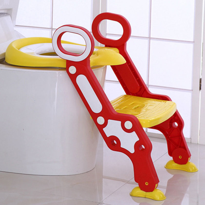 Echelle wc Pot enfant chaise bébé Pot d entrainement poele abattant wc enfant Portable urinoir Pot confortable