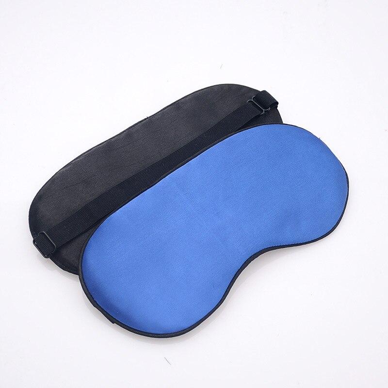 Silk Shading Sleep Eye Mask Adjustbale Bandage On Eyes For Sleep Soft Eye Cover Adult Child Travel Rest Eye Patch Sleeping Mask 1