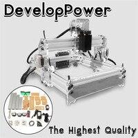 WOLIKE 2000 МВт A5 17x20 см лазерный гравер резки Desktop гравировка принтер типа ЧПУ DIY рабочего Дровосек + лазерная очки