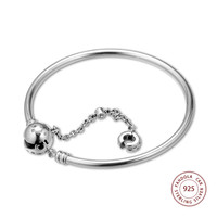2019 New 925 Sterling Silver Limited Edition True Uniqueness Charm Bracelet Bangles for Women Silver 925 Jewelry Lovers' Gift