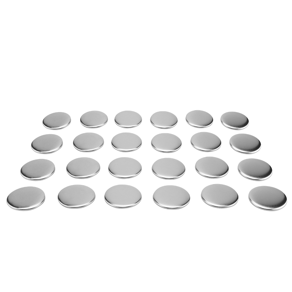Image 3 - 1000pcs 58mm DIY Blank Pin Badge Button Parts Consumables for Pro Button Maker WholesalePins