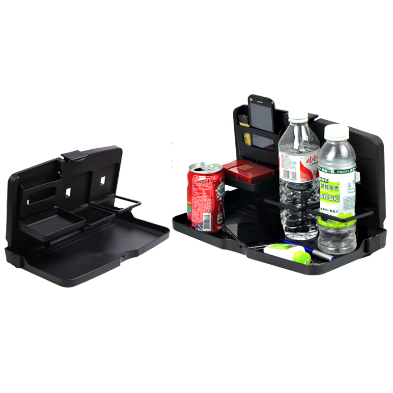 Joormom Drawer Type Car Multi-function Computer Table Children Table With Card Slot Beverage Rack Truck Accessories Interior Mounts & Holder Drinks Holders